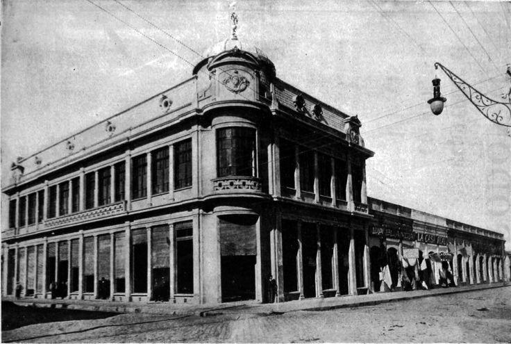 Robles esquina 5 de Abril, Chillan. 1913