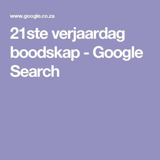 21ste verjaardag boodskap - Google Search