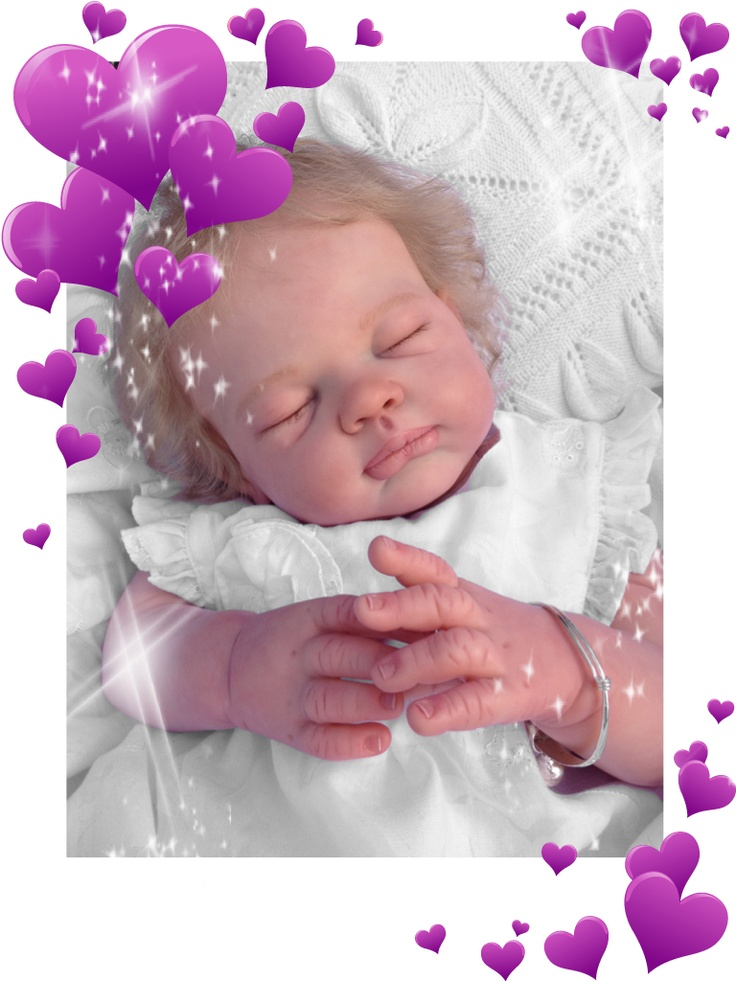 Peek-A-Boo Babies reborn nursery. This gorgeous baby girl Isabelle is SOLD Check out available reborns or works in progress on my Facebook page :)  Peek-A-Boo Babies reborn nursery.