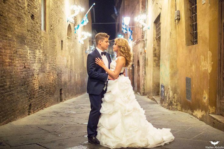 Night Romantic Wedding Inspiration In Florence
