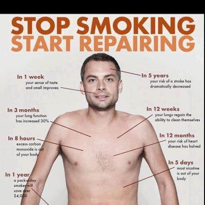 Stop Smoking - Start Repairing!