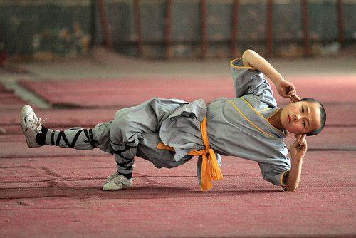 Shaolin Kung Fu Trainning.