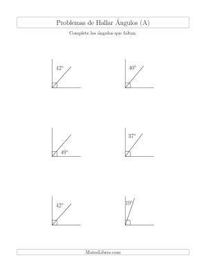 Relación Entre Ángulos Complementarios (A)