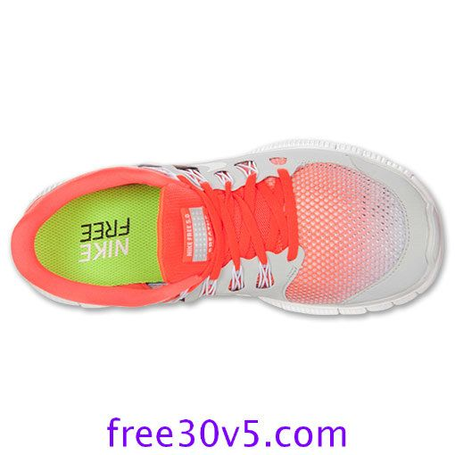 Half Off Nike Free Wholesale,Nike Free 5.0 Mens Total Crimson White Pure Platinum 579960 810 - Click Image to Close