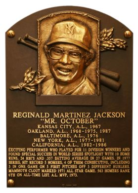 "Reggie Jackson was the first player in Major League history to amass 100 or more home runs for three different clubs: the A's, Yankees and Angels?   ""I must admit, when Reggie hit his third home run [in the 1977 World Series] and I was sure nobody was looking, I applauded in my glove.""  Steve Garvey"