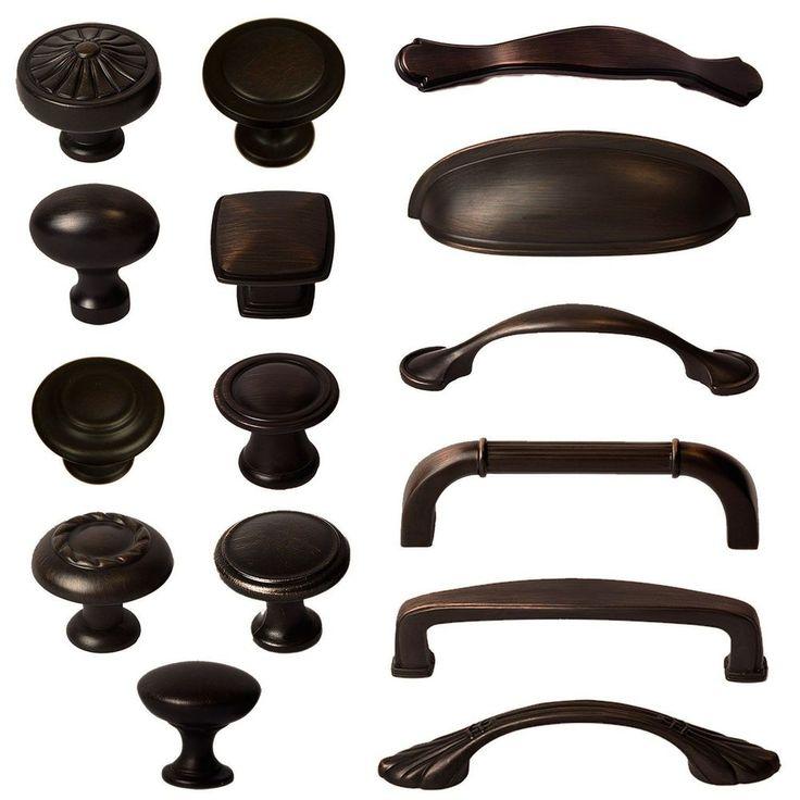 cabinet knobs handles hardware bin cup pulls oil rubbed bronze door