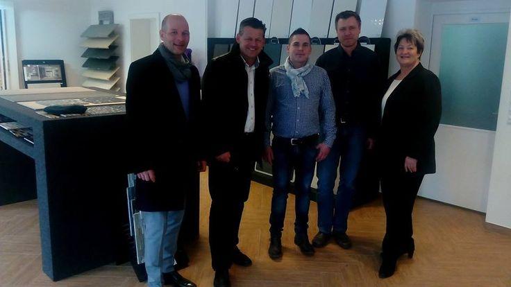 Mein Betriebsbesuch bei Fliesen Flor OG, wo Herr Sinad Orlic (GF) mich sehr herzlich aufgenommen hat.