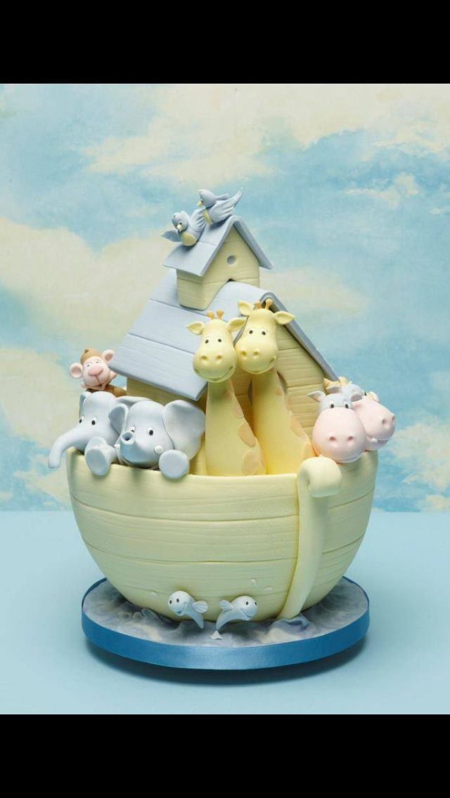 Baby Shower Cakes Hull ~ Best images about noah s ark cakes on pinterest