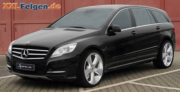 Mercedes Benz R-Klasse + Hofele Leichtmetallfelgen in 22 Zoll; Merceces R class tuning wheels