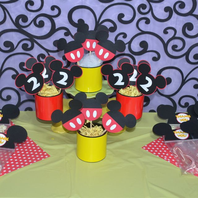 Mickey Mouse Party #mickeymouse #party