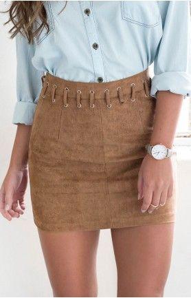 Mystic Skirt Tan
