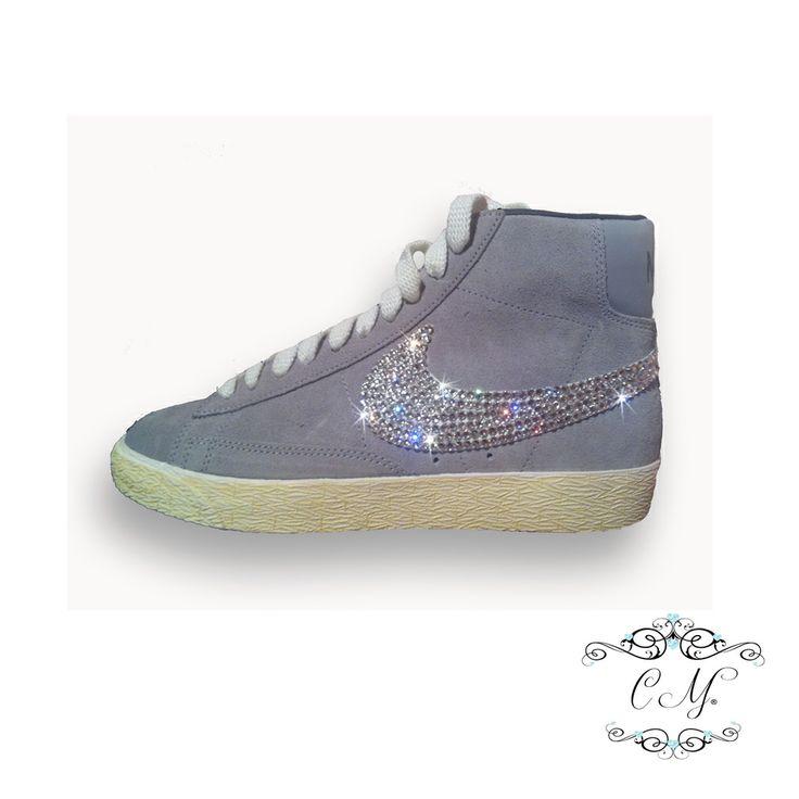 Custom swarovski crystal Nike Blazers