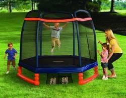 outdoor enclosed Trampoline