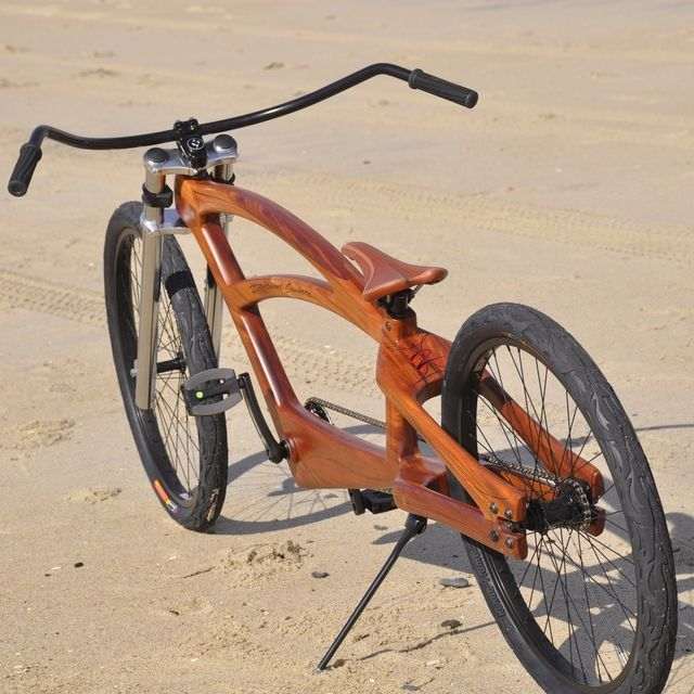 Driftwood Cruiser #2 - Custom Bicycle