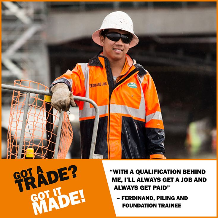 The #world needs more #skilled #tradespeople. An #apprenticeship could take you anywhere. www.gotatrade.co.nz