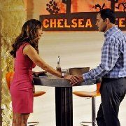 Still of Charisma Carpenter and Andy Buckley in The Lying Game (2011)