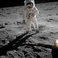Humans reach the moon, July 20, 1969