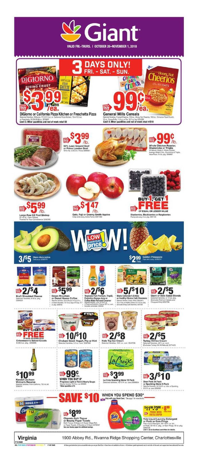 Giant Food Weekly Circular Flyer December 21 27, 2018