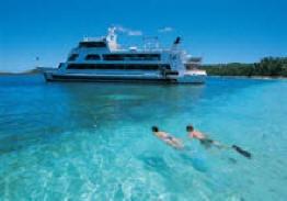 Blue Lagoon Cruise Fiji - 1 honeymoon, 28 years ago, 1 boat, 3 days, priceless