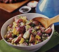 GreenOrganicMama: Refreshing Summertime Potato and Corn Salad