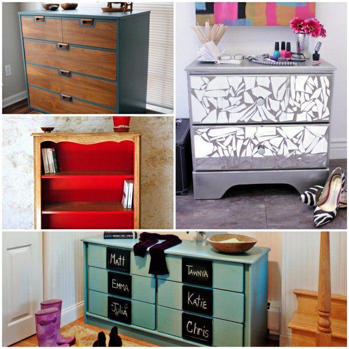 ausgefallene kommoden die alte kommode effektvoll neu gestalten diy pinterest kommode. Black Bedroom Furniture Sets. Home Design Ideas