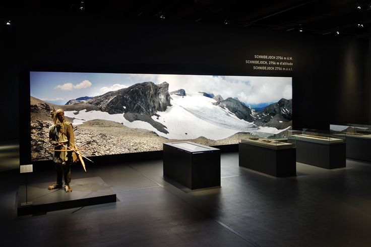 BERNISCHES HISTORISCHES MUSEUM Temporary exhibition: The Pile Dwellers – On the water and over the Alps / design & scenography by www.elementdesign.ch