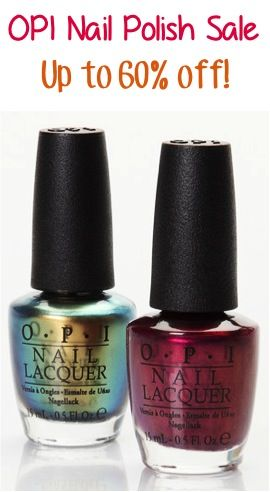 OPI Nail Polish Sale ~ up to 60% off!! #nails