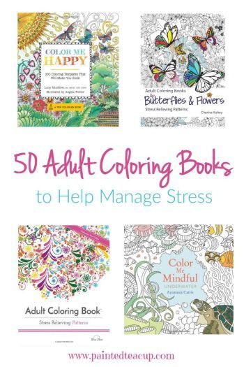 50 Adult Coloring Books To Help You Manage Stress