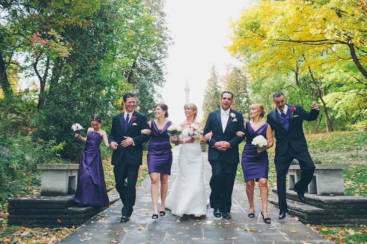 Mike + Allyson Niagara Falls Wedding - Queenston Heights-19