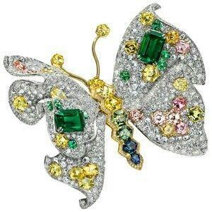 Rosamaria G Frangini | High Animal Jewellery | TJS | Butterfly by Anna Hu