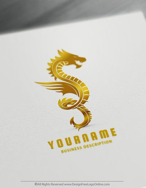 Online Dragon Tattoo - Dragon Logo Maker - Dragons Logo Ideas
