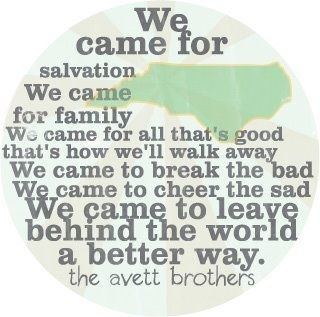 The Avett Brothers ~ Salvation song #contest