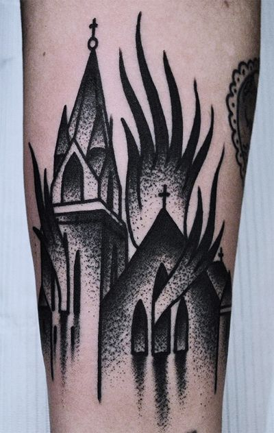 Mike Adams  Thicker Than Water Tattoo / NYC
