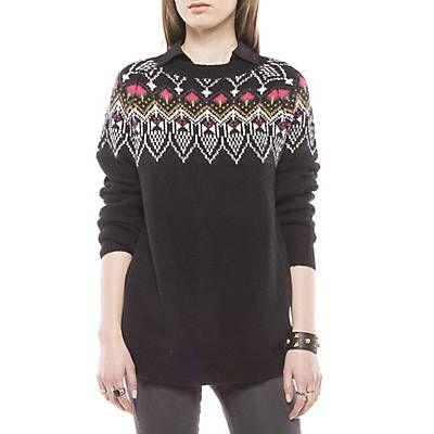 Me gustó este producto Americanino Sweater Detalles en Cuello Negro. ¡Lo quiero!