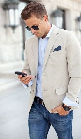 Cool 50+ Great Business Casual Looks For Summer https://fashiotopia.com/2017/04/22/50-great-business-casual-looks-summer/ Jeans is a clear no-no. They are not on the white listin most of the serious corporations. Light or vintage wash denim jeans seem good at quite casual...