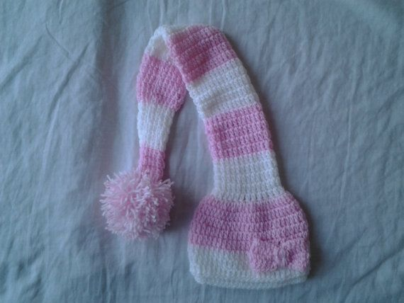 newborn girl elf hatcrochet girl elf hatphoto prop by crochetfifi