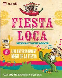 Fiesta Loca, iedere woensdag en zaterdag in The Grill!