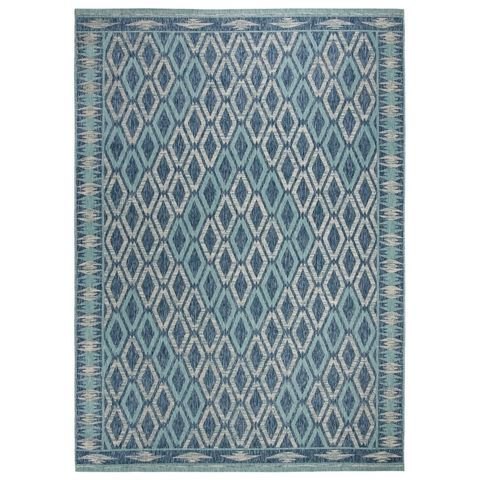 Buy Blue Green Orange Washable 8 X 10 Area Rugs Online At Overstock Our Best Rugs Deals Indoor Outdoor Rugs Coastal Area Rugs Outdoor Rugs