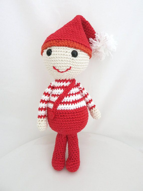 Elf Christmas Elf Amigurumi Elf Crochet Elf by MyNihonjin on Etsy