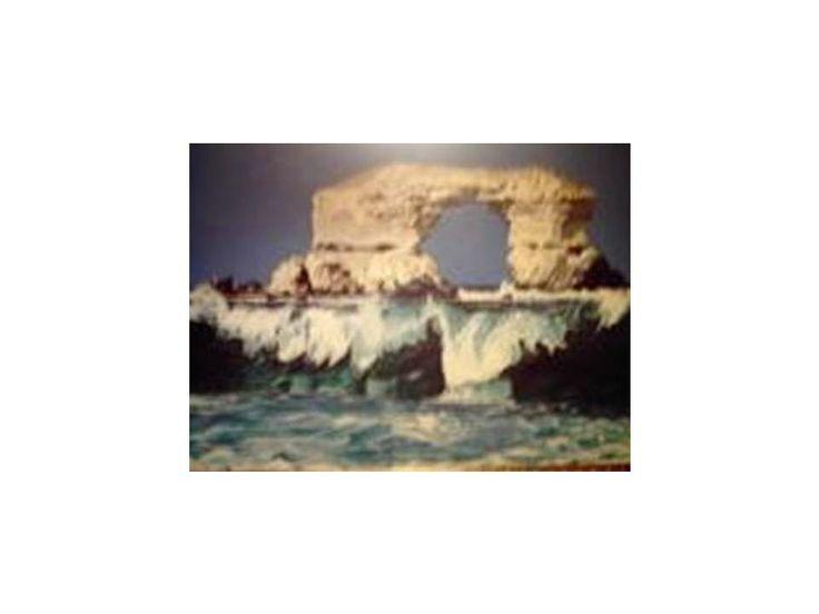 Portada de Antofagasta 2004 75cm x 90 cm Oil on Canvas ( Óleo sobre Tela) www.artsaigg.com Sold Out - Vendida