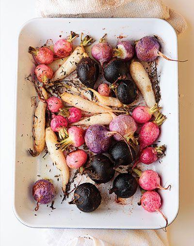 roasted radishes: Spring Vegetables, Salad Recipes, Olives Oil, Favorite Spring, Grilled Steaks, Roasted Beets, Roasted Radish, Radish Recipes, Food Drinks