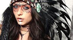 indianer make up - YouTube