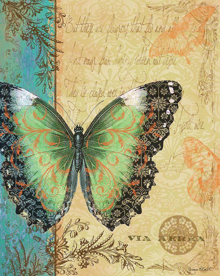 Royal Tapestry Butterfly-c Digital Art  - Royal Tapestry Butterfly-c Fine Art Print