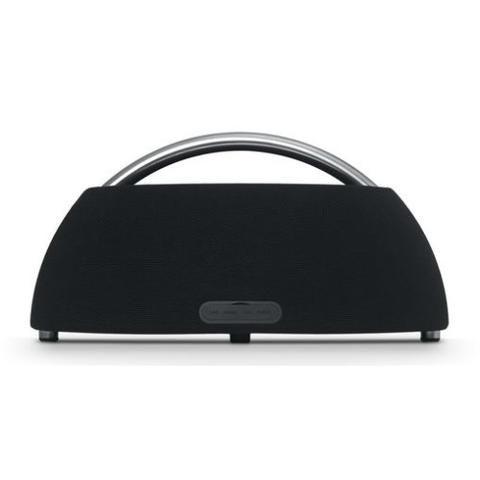 Harman Kardon Go+Play Mini Portable Bluetooth Speaker Black - Front view