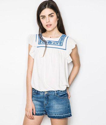 Camiseta Étnica | Shop Woman SPF