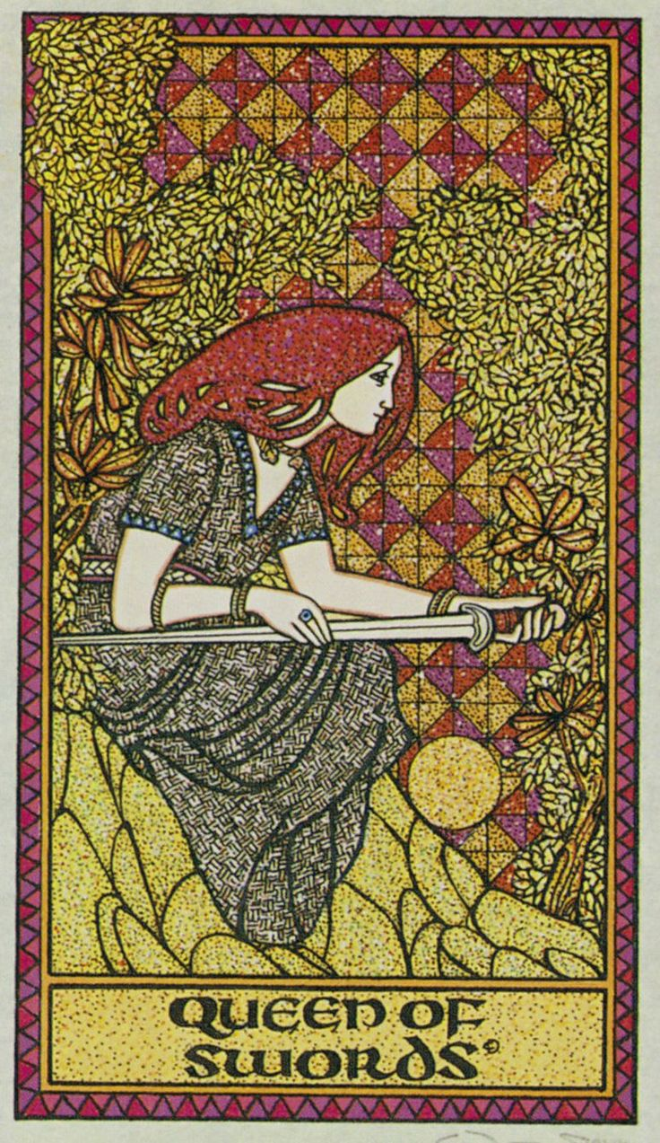Celtic Tarot: 17 Best Images About Queen Of Swords On Pinterest