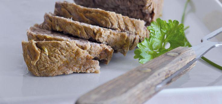 Tafelspitz de ternera con salsa de alcaparras