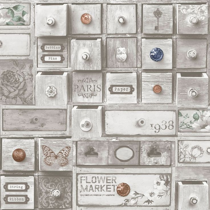 Fresco Wallpaper Trinket Box