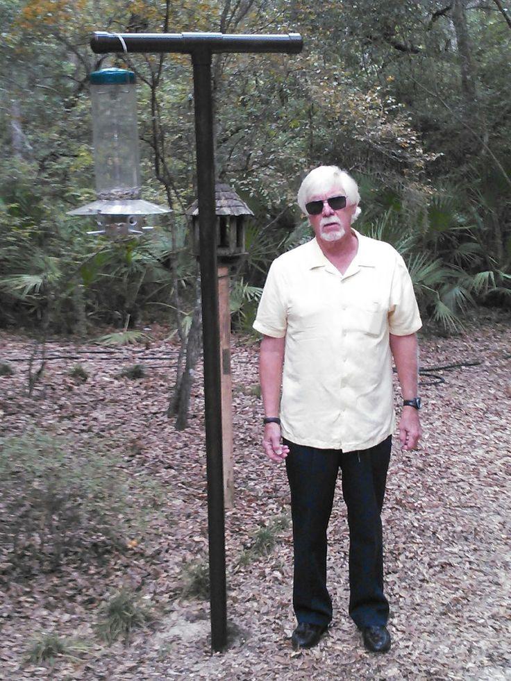 Don's Squirrel-Proof bird feeder pole