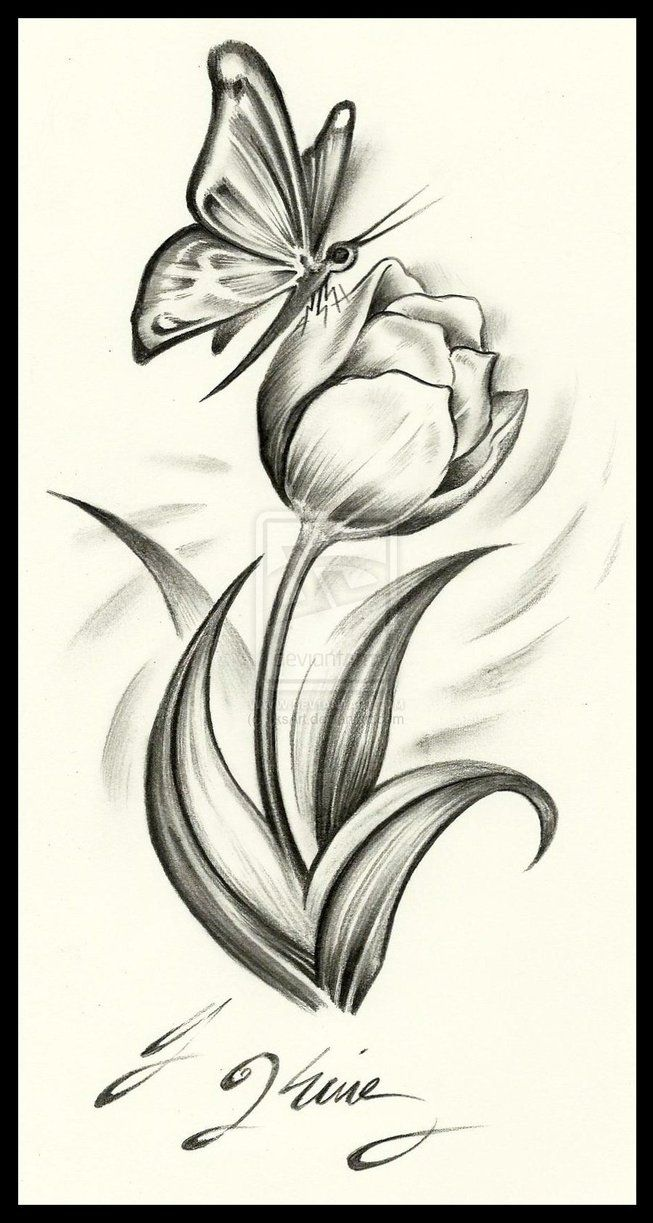 tulips tattoos | Tattoos and piercings